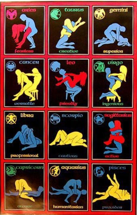 Zodiac Sex Positions By Georgette  - Musely-6847