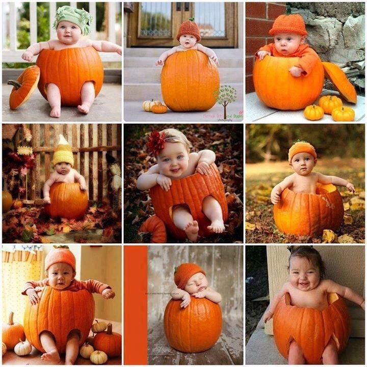 Cute Fall Baby Pic Ideas