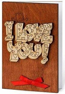 online on amazon as wooden anniversary card