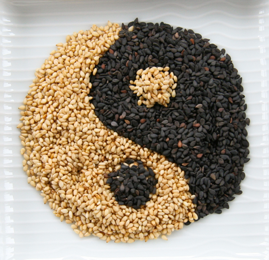 Sesame seeds are packed with zinc- an essentially  minerals for producing collagen and giving skin more elasticity sesame seeds are a great snack to boast your energy.