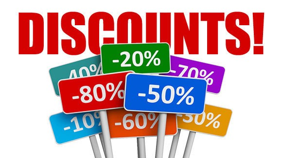 3) Take advantage of discounts Look at the flyers for your favorite store or grocery store or even movie theater tickets and look for discounts, it can benefit you