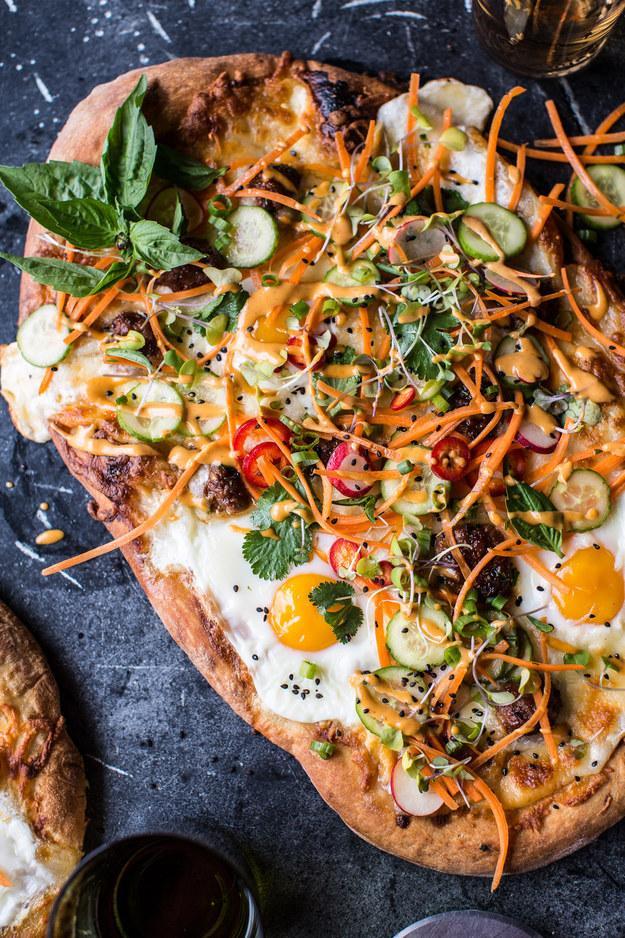 2. Banh Mi Pizza