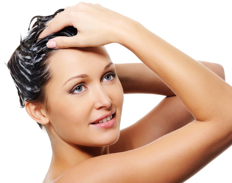 Don't wash your hair every day as it takes away all the natural oils from it