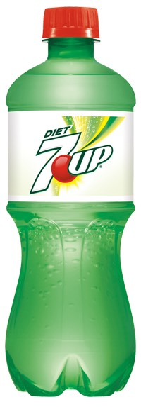 2 litter bottles of 7up