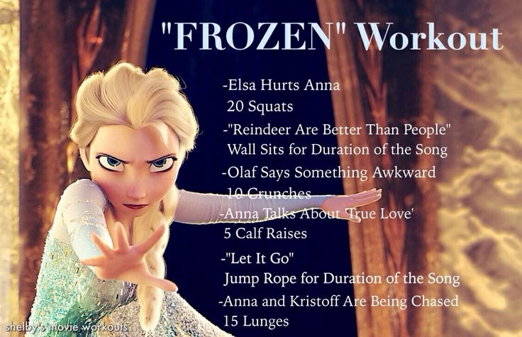A Couple Of Workouts To Do While Ing Disney Movie