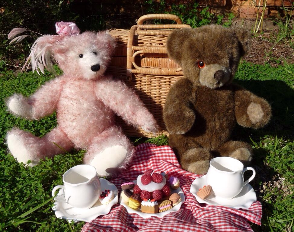 Don't forget to supply pretend food for the bears.  After all there VIP guests