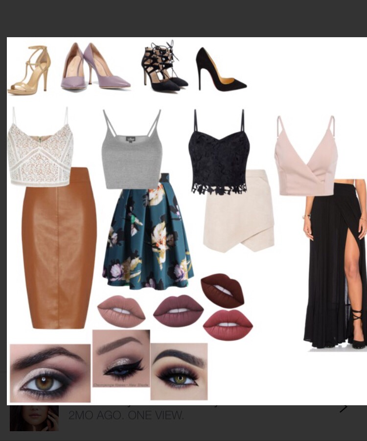 These are some stylish dressieroutfit ideas, they're each different from one another