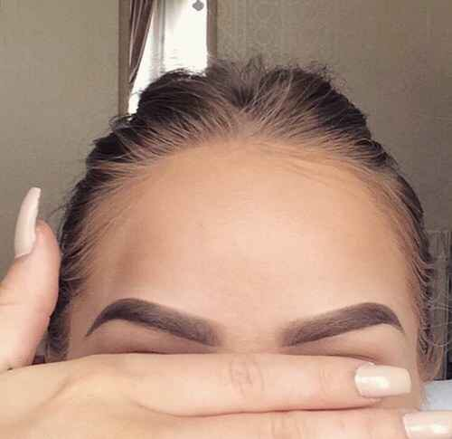 5. When you get your eyebrows just perfect.