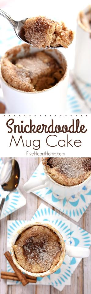 Ingredients:  1/4 cup + 2 tablespoons all-purpose flour  2 tablespoons sugar 1/4 teaspoon baking powder 1/4 teaspoon cinnamon 1/4 cup milk, at room temperature 2 tablespoons salted butter, melted and cooled 1/2 teaspoon pure vanilla extract  Next..