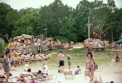 River county, was the first water park at disney world. It opened in 1976, and it closed in 2001, because the natural water could be potentially dangerous.