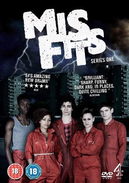 Misfits - this show is amazing (it changes a lot) it's so action packed and every episode is so epic  (mature content)