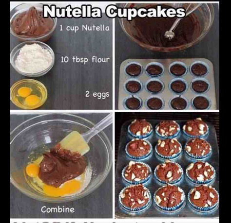 put anything you want in at normal time as cupcakes if needed help just comment xx