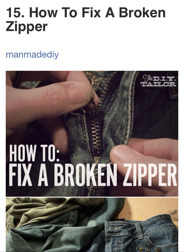 http://www.manmadediy.com/users/dan_e_t/posts/2698-the-diy-tailor-three-common-zipper-problems-and-how-to-fix-them