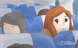 Ask your physician for short-acting sleeping medication if you are on a long flight. Many people find this is helpful.