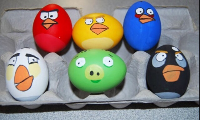 How about some angry bird eggs