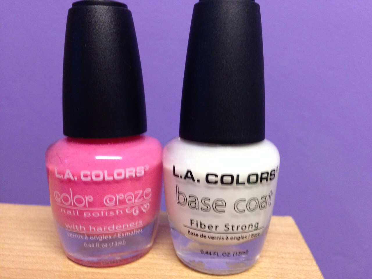 Get a base coat and chose a colour of you polish