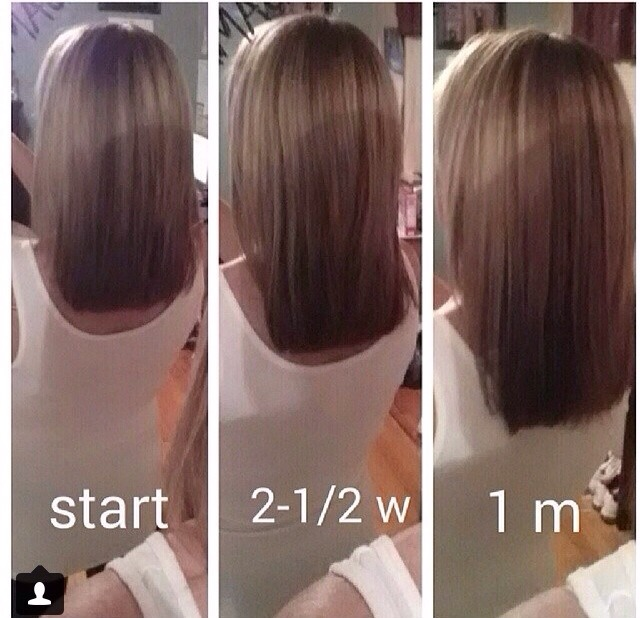 How Long Does Hair Grow In A Month Musely