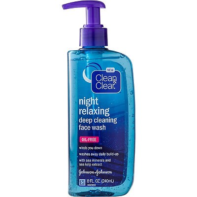 This is by far the best facial cleanser that I've ever used. I have very sensitive and dry skin and in the past my cleansers made my skin breakout and caused my skin to peel and flake off. Clean & Clear Night Relaxing Deep Cleansin Facewash always leaves my skin feeling fresh and clean!