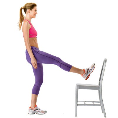 25 standing leg raise