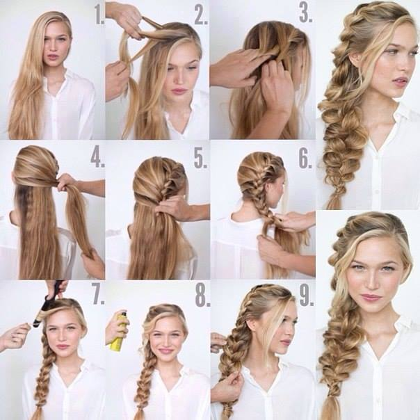 Super Cool Braid Tutorials Part 1 By Emily Gonzalez Musely Natural Hairstyles Runnerswayorg