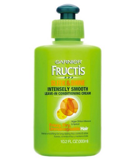 Use leave in conditioner. This is the kind that I use and it helps my hair look so much Stronger and healthier and wayless frizzy. You just rub it into your hair, brush it around, and your done! You don't need to wash it out or anything!