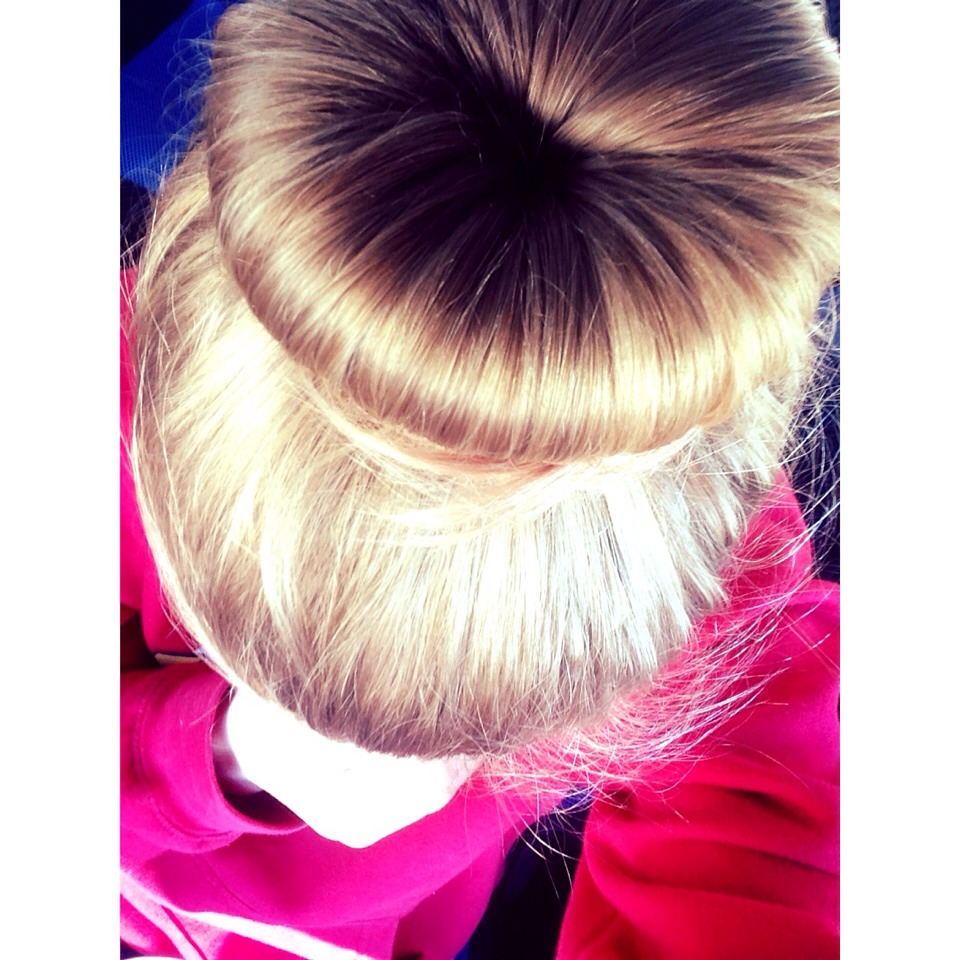 Try to keep your hair up and out the way to stop you tugging it out by touching it💕