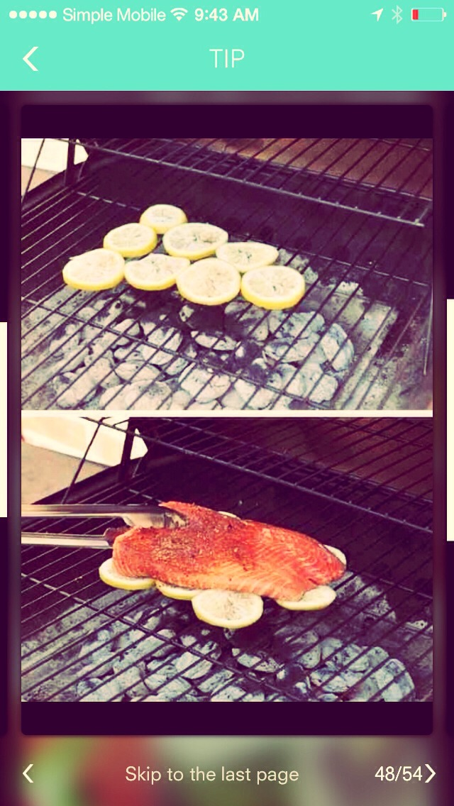 Cutting lemon slices and laying them on the grill will keep your fish from falling apart and you can do this in the oven on a pan buy laying down lemon slices first to keep fish from sticking or burning.