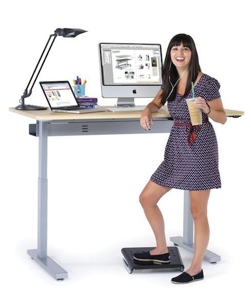 6. Switch To A Stand-Up Desk Most of us spend a lot of time in front of our computer, whether it's just for a few hours a day at home, or perhaps a job that requires it. It's a lifestyle that most of us can't avoid, but if you can switch to a stand up desk you'll naturally burn more calories every d
