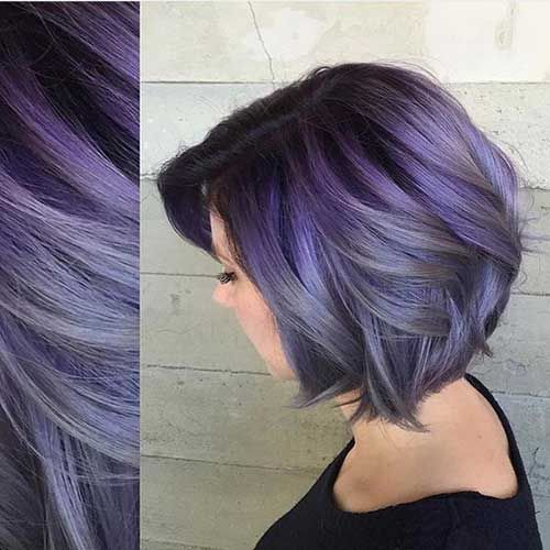 Color For Short Hair Styles Musely