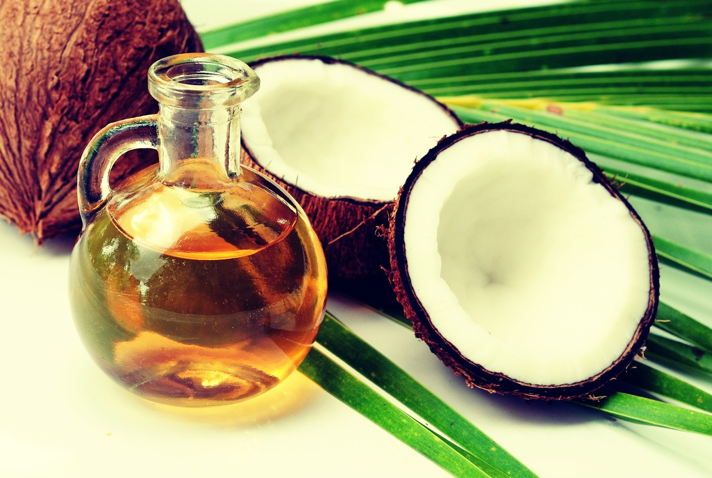 The last thing you will need is coconut oil or olive oil, but this step is completely optional  .