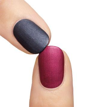 Just take a clear top coat and mix in some corn starch, apply over any color and you'll have matte finish!(For those that don't know where to get the corn starch you can get the corn starch from any grocery store)