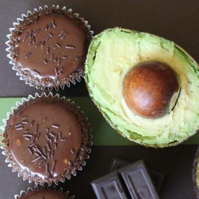 8. Swap out butter for avocado when baking a cake.