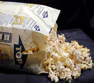 10. Microwave popcorn