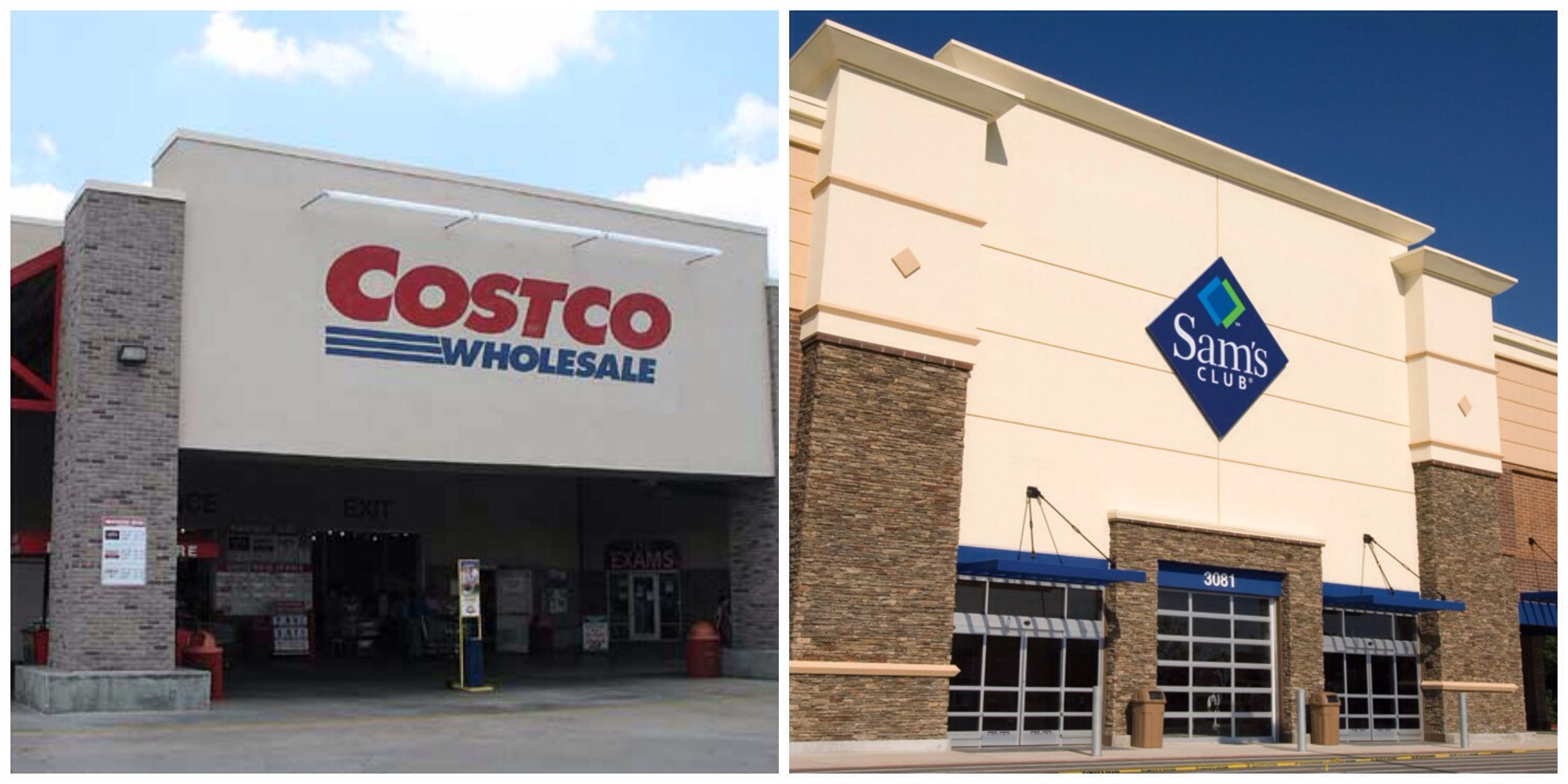 comparision between costco and sam club
