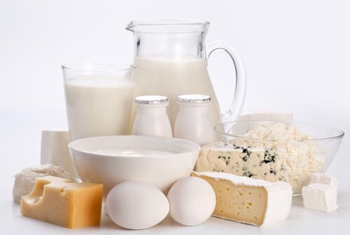 dairy products are full of calcium which has been known as an aid to weight loss