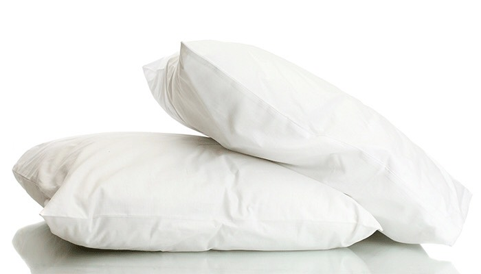 Wanna fight puffiness? Go to sleep. Sleeping propped up on two pillows instead of one can help reduce puffiness by helping drain fluid from your face. Literally. That's it.