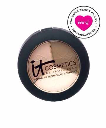 3: It Cosmetics Naturally Pretty Luxe Anti-Aging Eyeshadow Trio, $24
