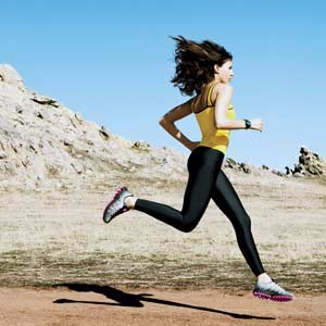 If you run for 15 minutes you will burn off 100 calories . Even if it in a running Machine or on the spot !