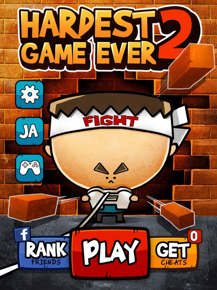 """Download and play the app """"the hardest game ever 2"""". It's fun and very challenging."""