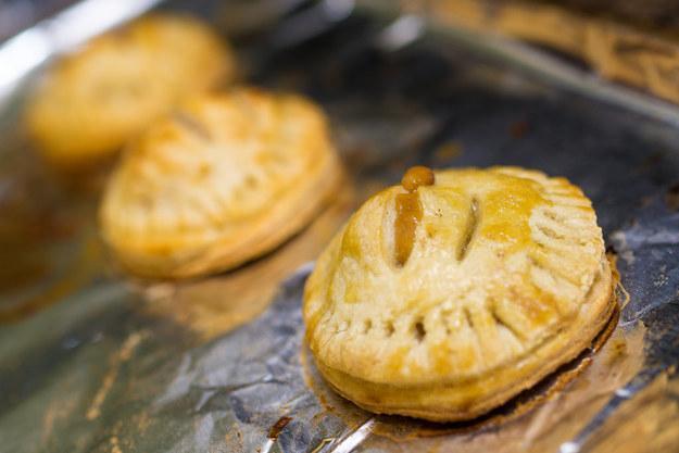 23. Mini Caramel Apple Pies  http://michigan.spoonuniversity.com/cook/the-pinterest-challenge/?utm_source=buzzfeed&utm_medium=referral&utm_campaign=content-partnerships