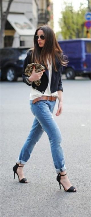 2. Wear really great heels.
