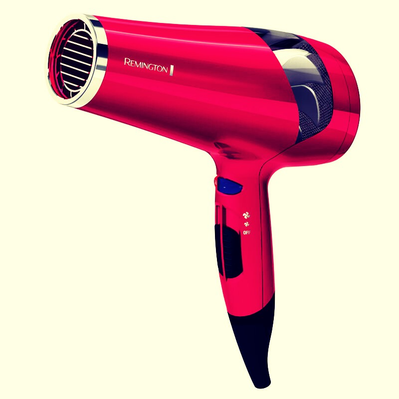 Dry your hair But before spray some heat protecter just in case