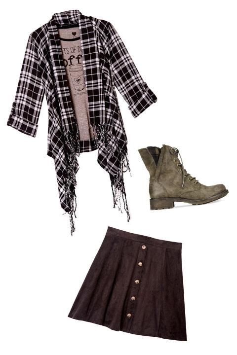 For a Saturday with the Girls The Look: Girly Grunge