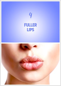 "The amped up blood flow from boinking can also help your pout look a bit plumper.""Sex increases your heart rate, which gets blood flowing,"" says Schlessinger. ""This increase in blood flow can lead to fuller-looking lips."""