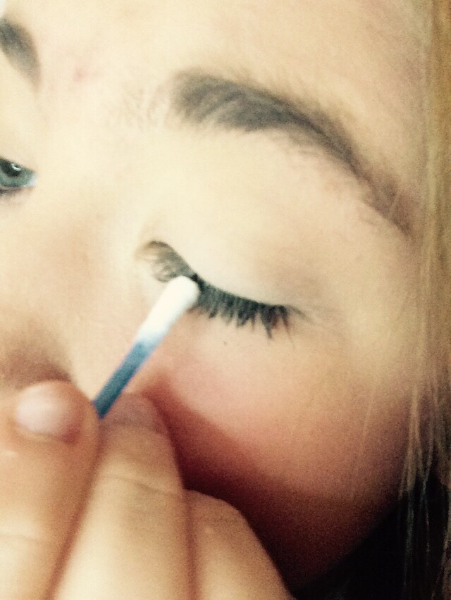 Also the start of the lashes aswell❤️