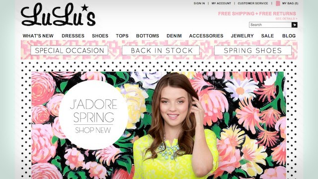 LuLu's is having a 25% off sale --> http://lch.bz/1vSxSzA (Use Code 25EXTRA).