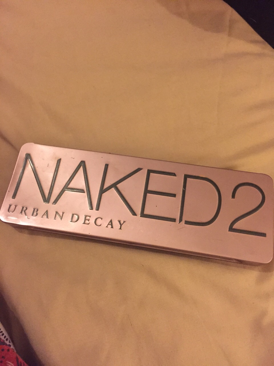 NAKED 2 PALLET   I love this eye shadow pallet! I find the colours soft and lasting and easy to apply! I also love the cute brush you get it's great for blending!