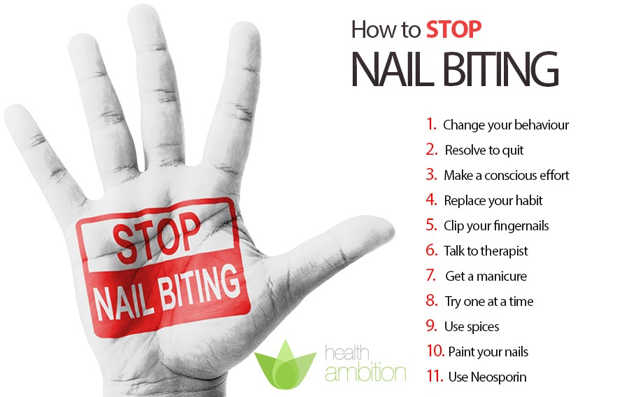 The Consequences Of Nail Biting