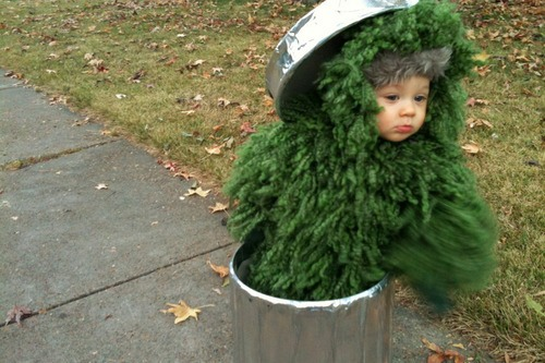 The Grouch from Sesame Street.
