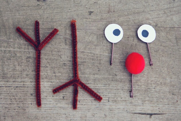 Materials Needed: Pipe cleaners Bobby pins Pom poms Paper